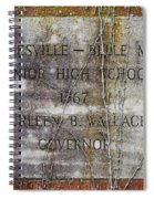 Mooresville - Belle Mina Junior High School 1967 Spiral Notebook