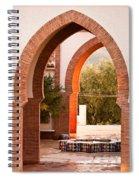 Moorish Arches Spiral Notebook