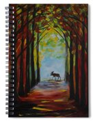 Moose Territory Spiral Notebook
