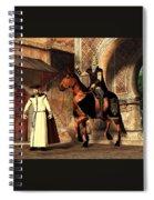 Mordechai And Haman Spiral Notebook