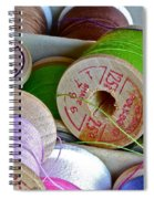 More Loose Threads Spiral Notebook