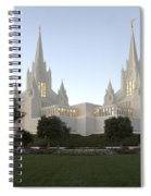 Mormon Cathederal San Diego Spiral Notebook