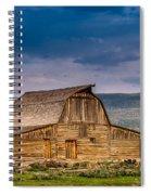 Mormon Row Barn 2 Spiral Notebook