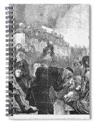 Mormon Service, 1871 Spiral Notebook