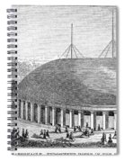 Mormon Tabernacle, 1870 Spiral Notebook