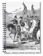Mormons At Nauvoo, 1840s Spiral Notebook