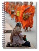 Morning Alms Spiral Notebook