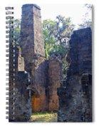 Morning At Bulow Plantation Spiral Notebook