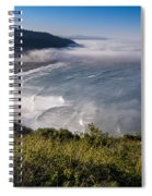 Morning At Klamath River Overlook Spiral Notebook
