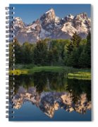 Morning At Schwabacher Landing Spiral Notebook