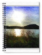 Morning At The Lake Spiral Notebook