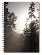 Morning At Valley Forge Spiral Notebook