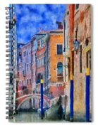 Morning Calm In Venice Spiral Notebook