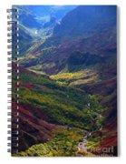 Morning Waimea Canyon Spiral Notebook
