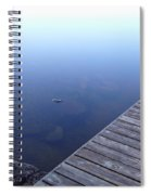 Morning Dock Spiral Notebook