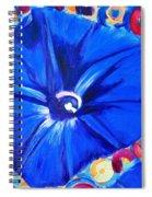Morning Glory Flower Spiral Notebook