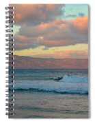 Morning In Maui Spiral Notebook
