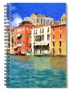 Morning In Venice Spiral Notebook