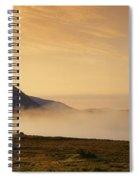 Morning Mist, Connemara, Co Galway Spiral Notebook