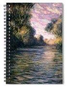 Morning On The Seine Spiral Notebook