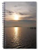 Morning Skies On The Chesapeake Spiral Notebook