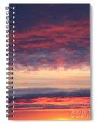 Morning Sky Portrait Spiral Notebook