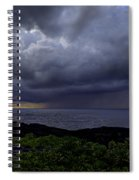 Morning Squall Spiral Notebook
