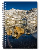 Morning Sun On Angel Lake Spiral Notebook