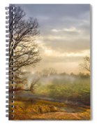 Morning Trees Spiral Notebook
