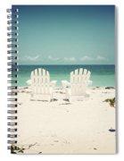 Morning View-vintage Spiral Notebook