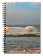 Morning Waves Spiral Notebook
