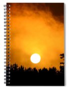 Morning's Mysterious Sunrise Spiral Notebook
