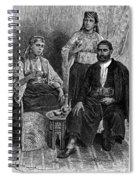 Moroccan Jews, C1892 Spiral Notebook