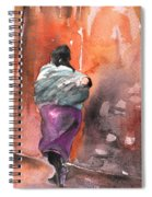 Moroccan Woman With Baby Detail Spiral Notebook