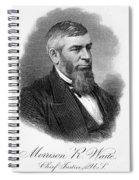 Morrison R. Waite (1816-1888) Spiral Notebook