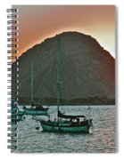 Morro Bay Rock Spiral Notebook