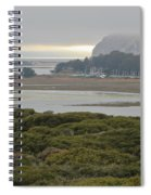 Morro Rock From The Elfin Forest Spiral Notebook