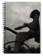 Mortality Road Spiral Notebook