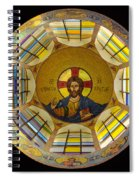 Mosaic Christ Spiral Notebook