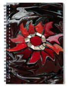 Mosaic Pudding Spiral Notebook