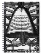 Moscow: Bell Tower, 1698 Spiral Notebook
