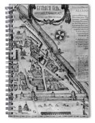 Moscow: Map, 17th Century Spiral Notebook