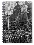 Moscow: Military Parade Spiral Notebook