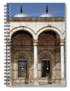 Mosque Of Muhammad Ali In Cairo Spiral Notebook