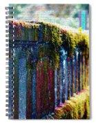 Moss Covered Bridge Spiral Notebook