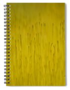 Moss In Yellow II Spiral Notebook