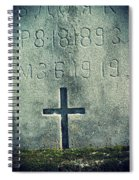 Mossy Tomb Spiral Notebook