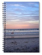 Mother And Daughter Beach Time Spiral Notebook