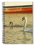 Mother And Two Spiral Notebook