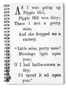 Mother Goose Spiral Notebook
